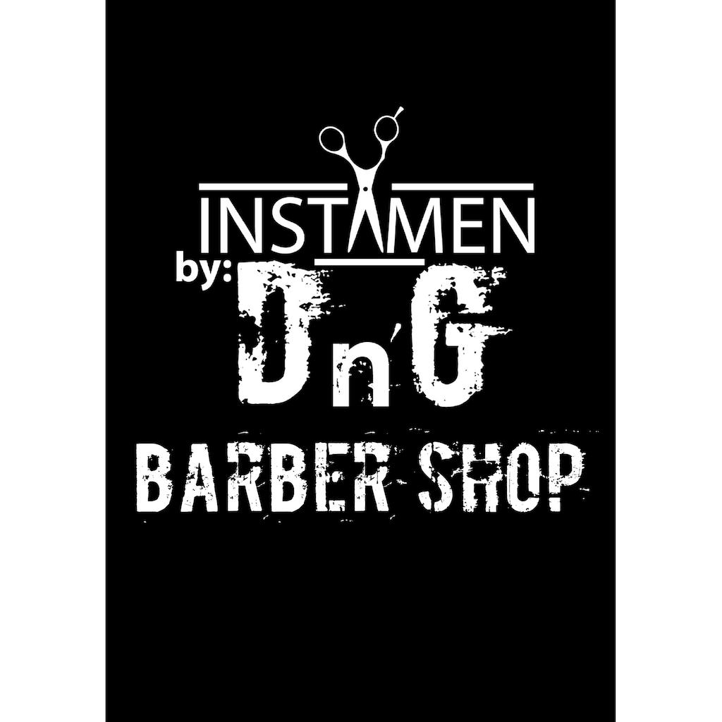 Instamen by DnG Barber Shop Poster