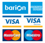 Secure and confortable online payment is provided by Barion Payment Inc,