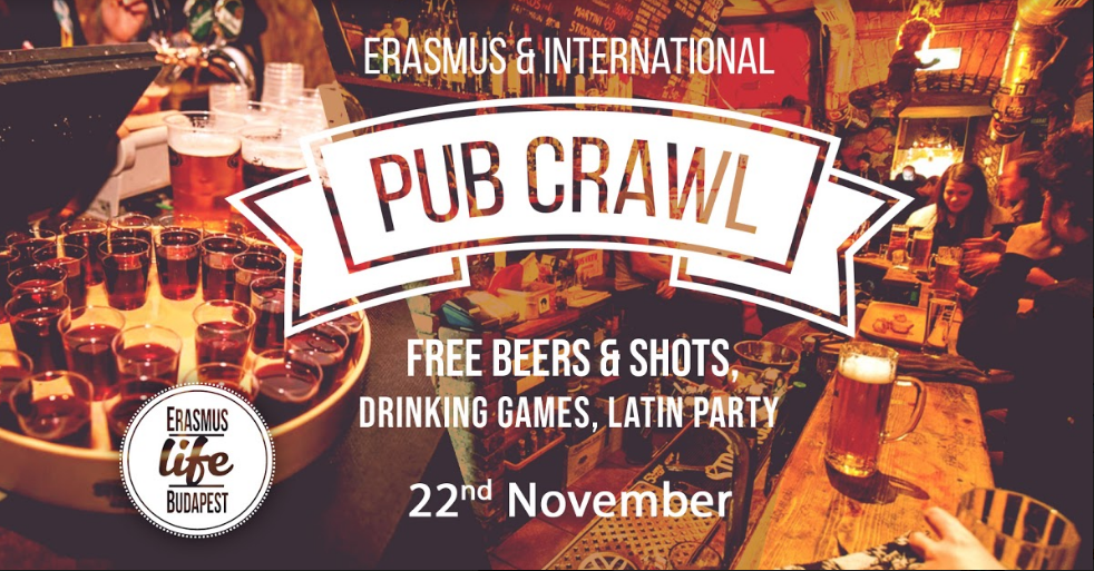 Pub Crawl 22November