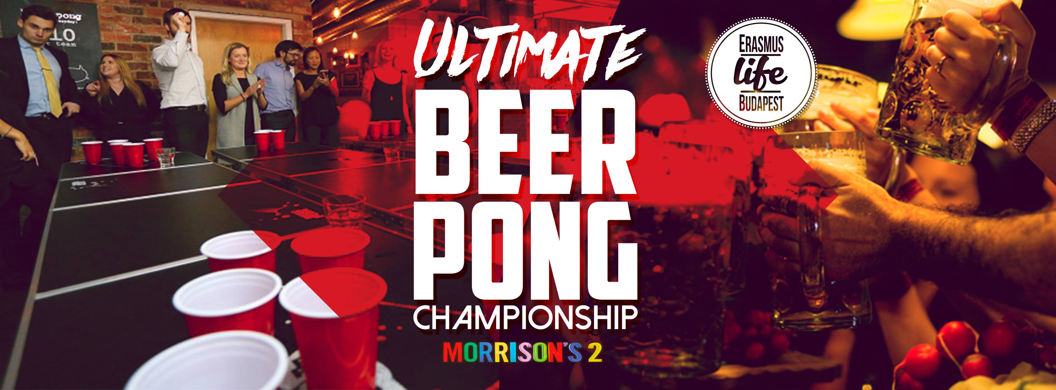 Beer Pong event cover