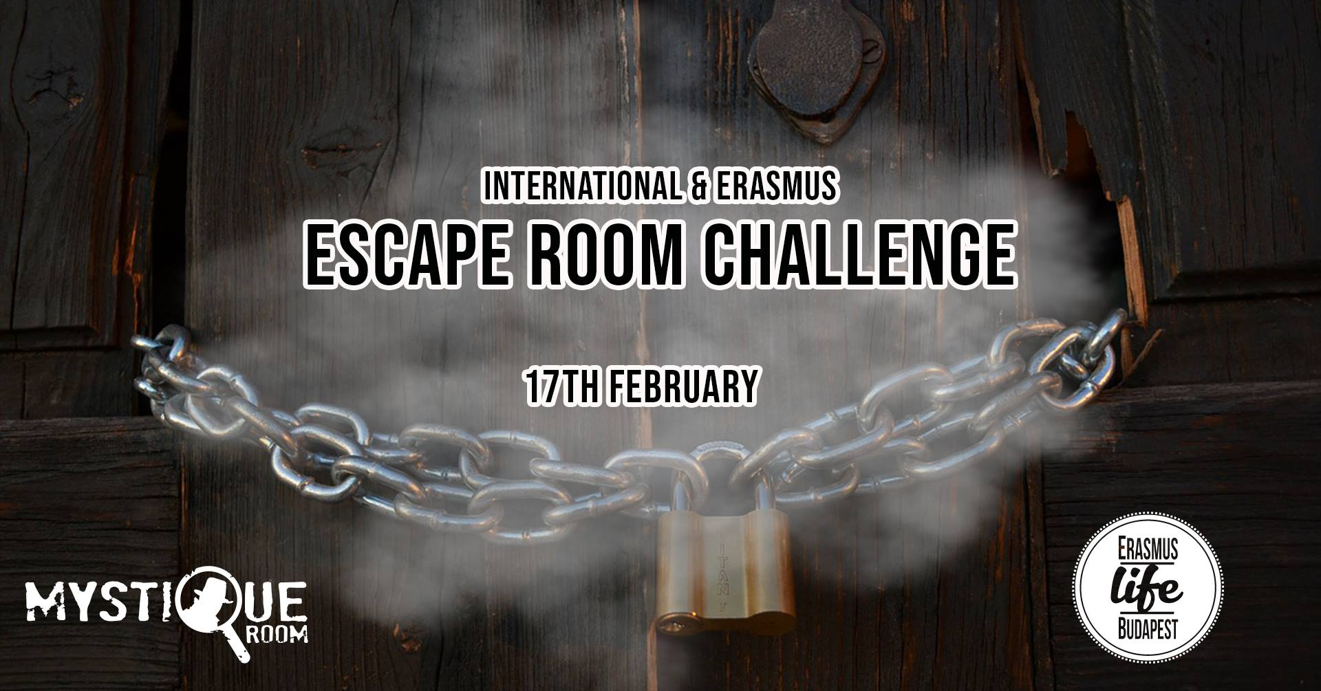 Escape room event cover