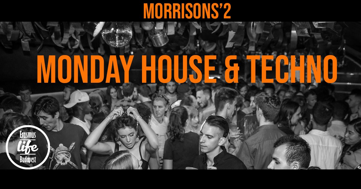 monday house and techno morrisons erasmus