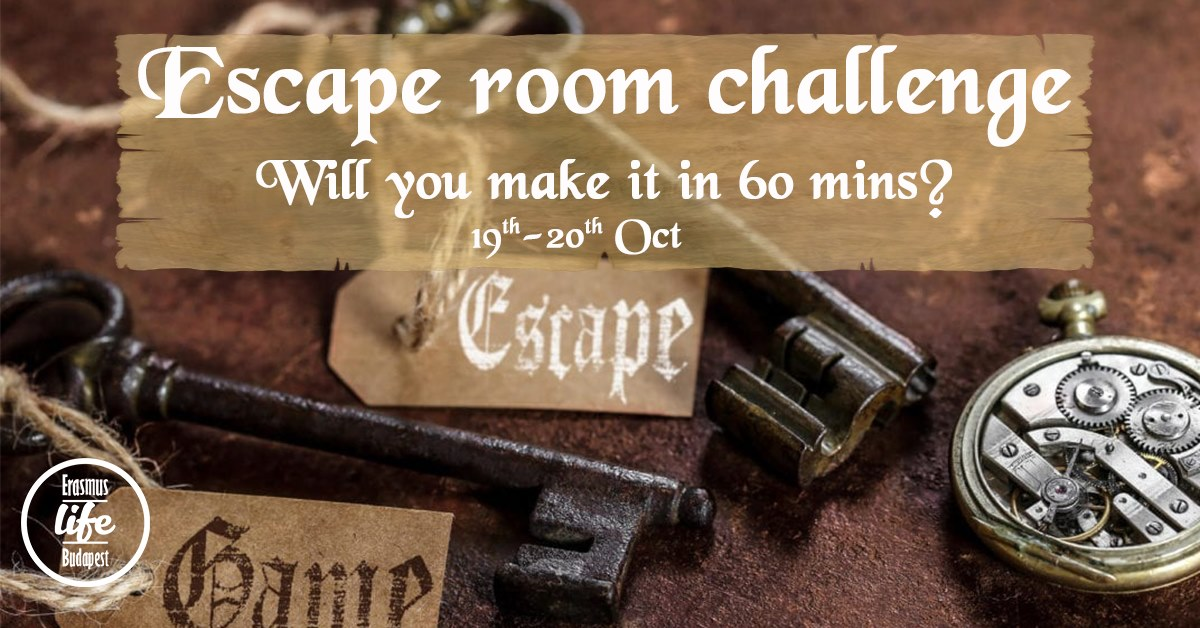 escape room erasmus